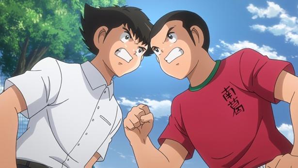「キャプテン翼」第29話の先行カットが到着。中学生編がスタート!新田も登場!