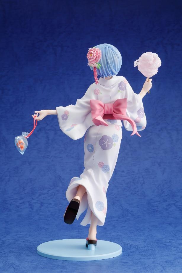 「リゼロ」よりレムの浴衣姿のフィギュアが発売決定!