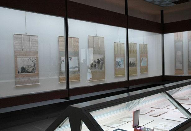 玉堂美術館では、奥多摩の自然や季節に合わせ、展示替えを年7回ほど実施する