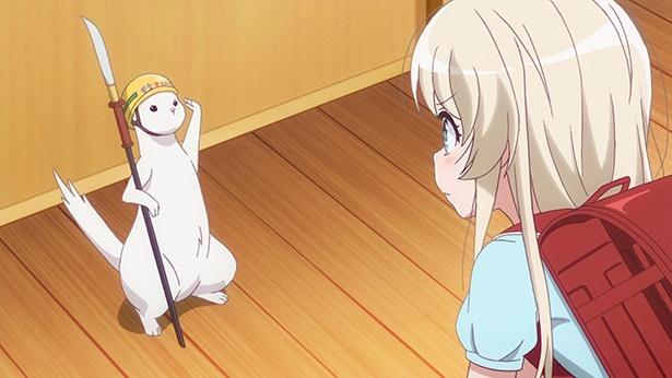 「うちのメイドがウザすぎる!」第3話の先行カットが到着。ミーシャが学校に行かない理由は!?