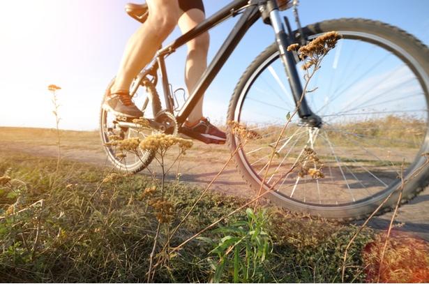 【写真】自転車に乗れば筋トレも可能!