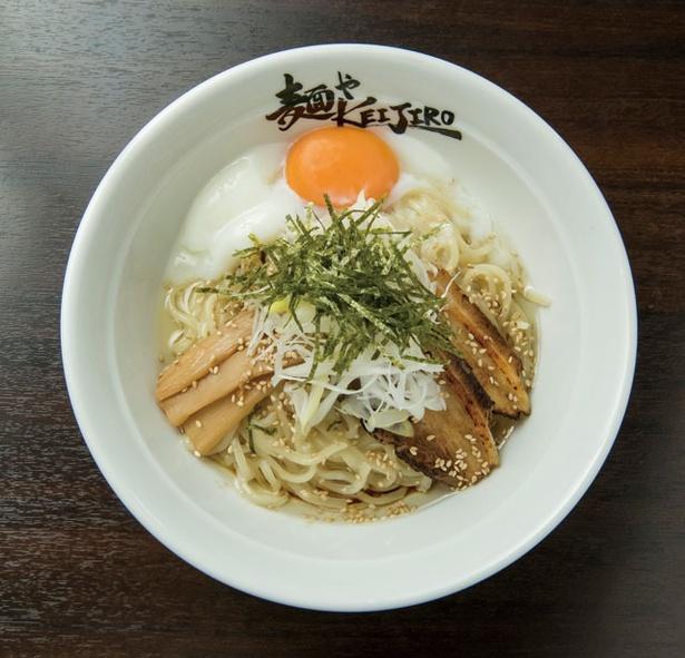 二代目 麺やKEIJIRO / 「温玉まぜ麺」(730円)