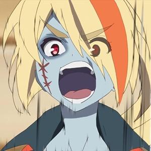 「ゾンビランドサガ」第3話の先行カットが到着。もっとアイドルっぽく!ワンフォーゾンビィ!!