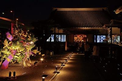 博多旧市街 ライトアップウォーク 千年煌夜 / 舁き山や十王図を一般公開