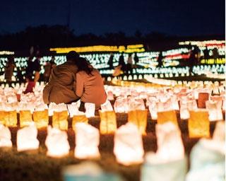 幻想的な世界が広がる!福岡「うみなかクリスマス キャンドルナイト」