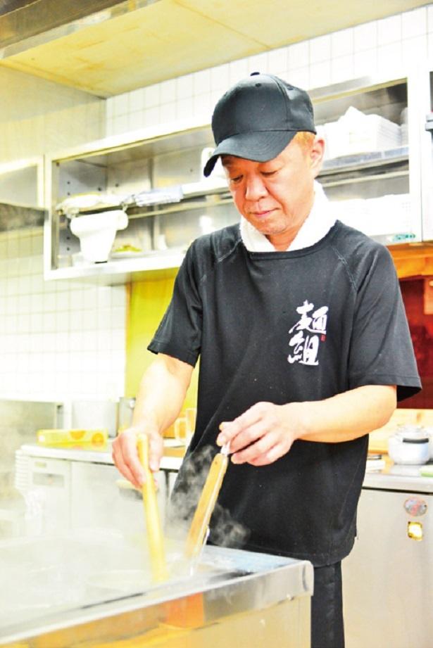 県内きっての人気店を築いた店主の沼田氏