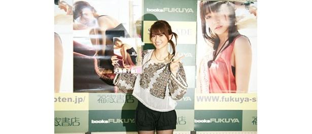 ソロ写真集を発売した大島優子
