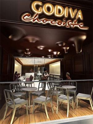 日本初のカフェスペース