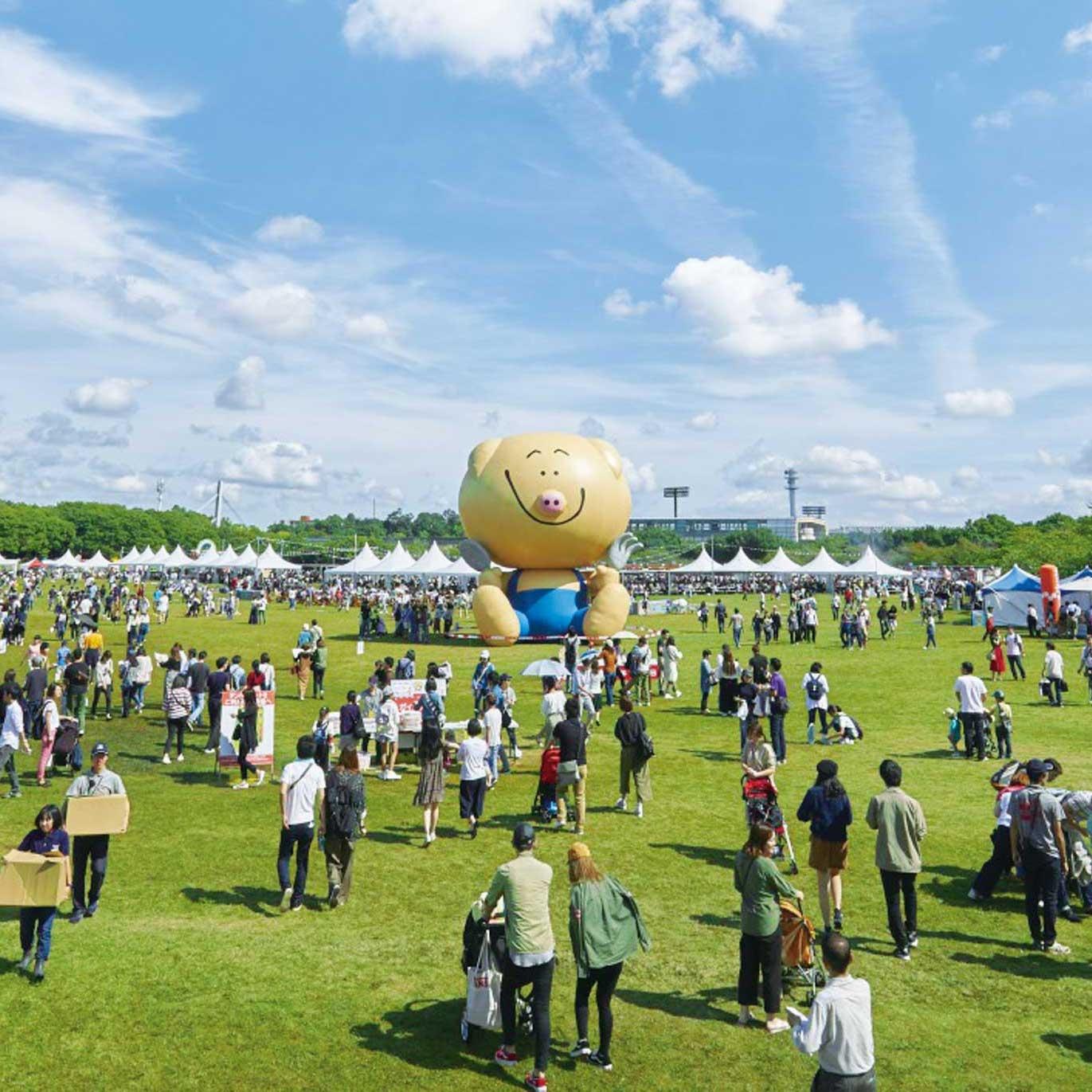フードフェスティバル「まんパクin万博2018」の会場風景(イメージ)