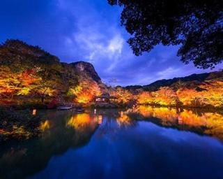 御船山楽園(佐賀県武雄市) / 自然の中に描かれた荘厳な秋の美