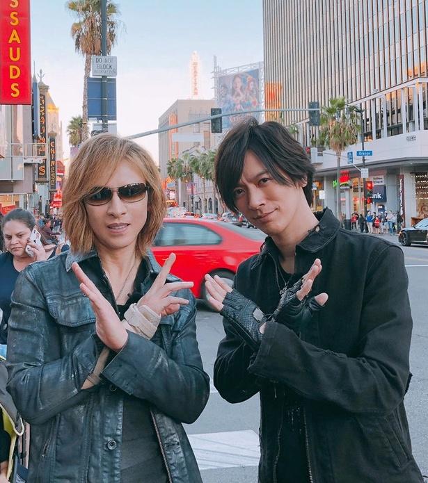 "YOSHIKIがLA絶品グルメを""DAI語""で紹介、DAIGO感激「お宝映像!」"
