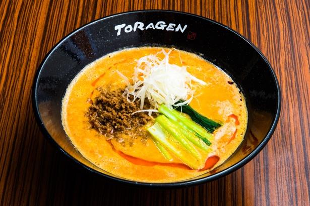 「担担麺」(800円)/「担担麺と麻婆豆腐の店 山之手 虎玄」