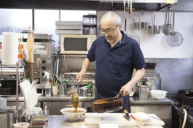 「変わらぬ味で続けていきますので、ご愛顧をお願いします」と店主の平井則幸さんは言う