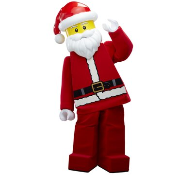 クリスマス期間にしか会うことのできないレゴランド・ジャパンのキャラクター。どこで会えるかは当日のお楽しみ♪