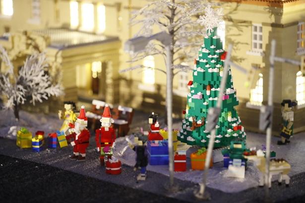 クリスマスバージョンの「ミニランド」はいつもと少し違った雰囲気が漂う