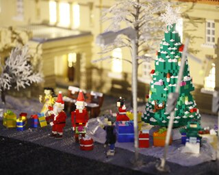 約61万個のレゴで作られたクリスマスツリーは圧巻!レゴランドのクリスマスはイベント盛りだくさん!!