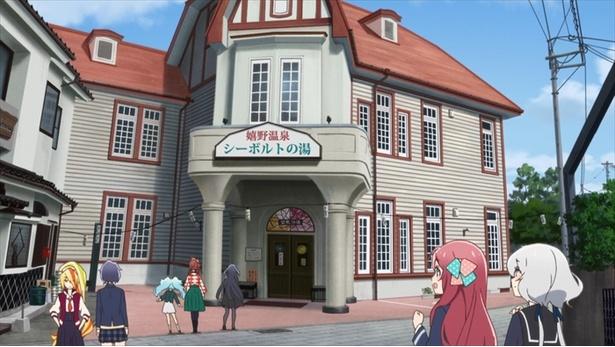 「ゾンビランドサガ」第4話の先行カットが到着。ゾンビィたちが温泉営業に!