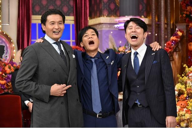 貴乃花、引退後初のテレビ出演は「しゃべくり007」!笑顔いっぱいで収録