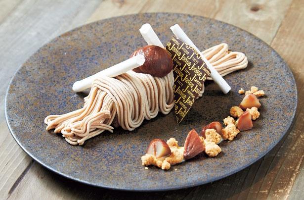 上品な香りと甘さが際立つ!京で味わうLa maison JOUVAUDの贅沢モンブラン