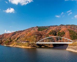 ドライブをしながら紅葉が楽しめる!福井県・九頭竜峡の紅葉が見頃