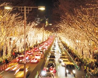 いつもの街並みがロマンチックストリートに変身!東京・神奈川の街中イルミ