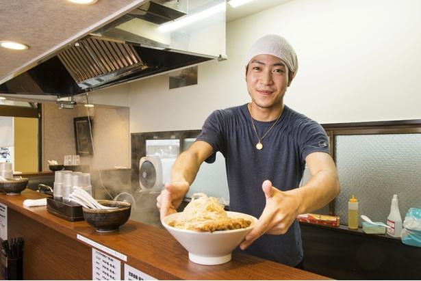 「麺屋 づかちゃん」店主の小野塚文太さん