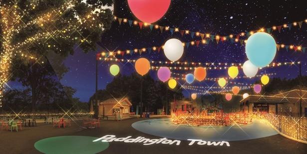 「パディントン タウン」では4種のナイトアトラクションを楽しめる