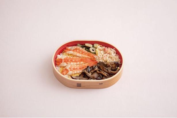 海老・蟹わっぱ / 800円