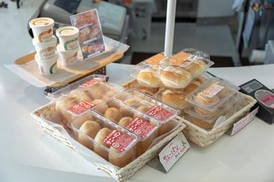 北九州「シロヤ」のサニーパン(3個320円)は数量限定 / ネスカフェ 博多