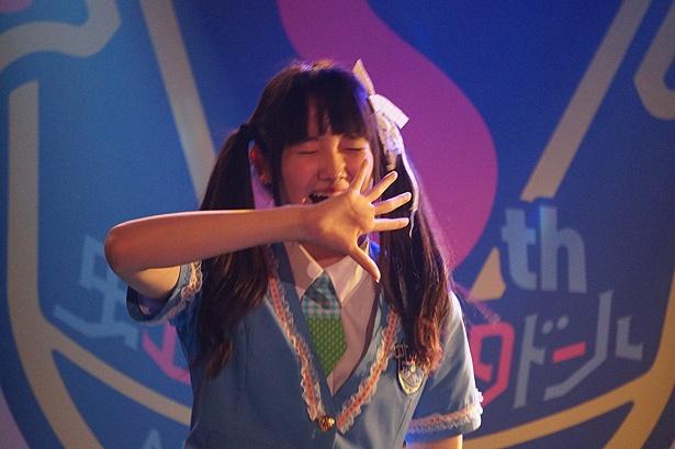 """虹のコンキスタドールが10月26日、全国7都市ツアーの仙台公演を開催。山本莉唯が地元凱旋で、まさかの""""地味な罰ゲーム""""!?"""