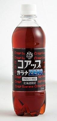 「コアップガラナZERO」(147円・500ml)。キレのある飲み口なのにカロリーゼロ