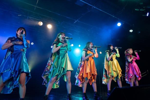 アプガ、新宿BLAZEで全80曲フルライブの前哨戦を完遂!本番は12月27日、Zepp Tokyoで!!