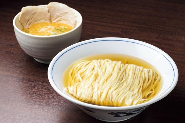 今年7月から販売を始め人気急上昇中なのが秋刀魚水つけ麺(800円)/麺や 清流