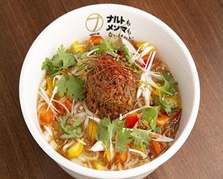 10(テン)パイナッポーアッポー麺(980円、1日限定30杯)