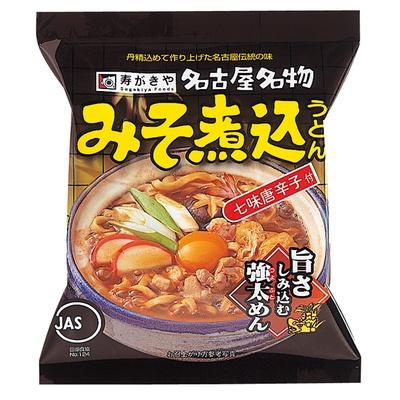 寿がきや食品から販売されている「みそ煮込」(124円)