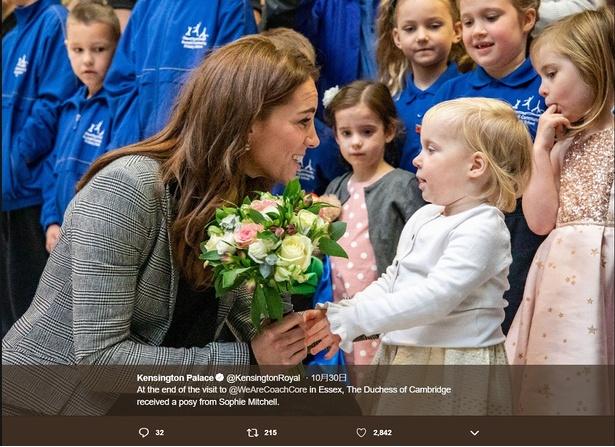 【写真を見る】英国ブランドの多いキャサリン妃、珍しくお手軽カナダブランドで登場
