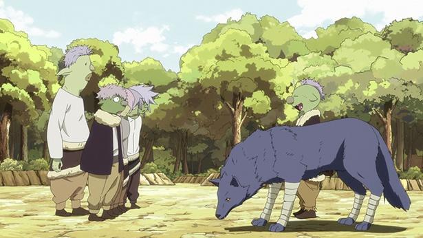 「転生したらスライムだった件」第6話の先行カットが到着。ギルドの冒険者たちと遭遇!