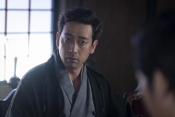 薩摩ことば指導の迫田孝也が江藤新平役で出演している