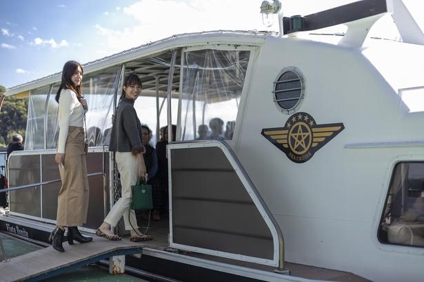 天草宝島ラインを運航するシークルーズの高速船