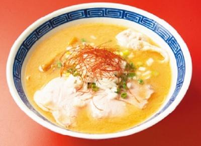 もう一つの醤油「濃厚鶏白湯」(780円)もオススメ
