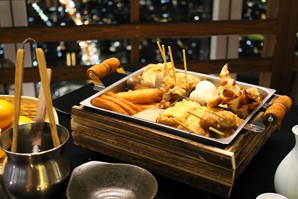 「ハルカス300名物鯛だしのおでん」は、だしが美味しい本格派!