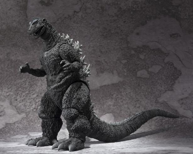 モノクロ彩色となっている「S.H.MonsterArts ゴジラ(1954)」