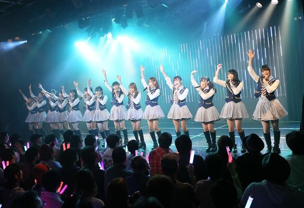 NMB48劇場で出張公演を開催したNGT48