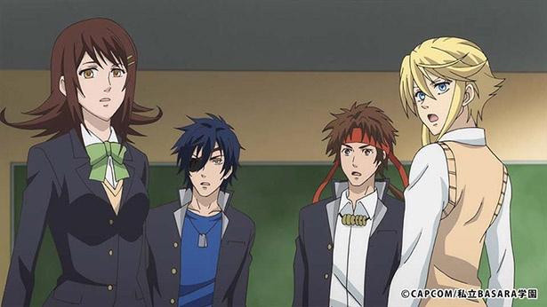 「学園 BASARA」第6話の先行カットが到着。鶴姫による恋の相談は思わぬ方向へ!