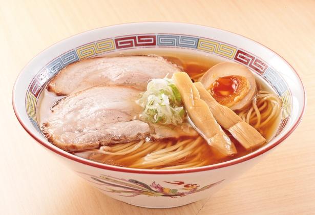 「煮干しらーめん」(780円)/煮干し鰮らーめん 圓 名古屋大須店