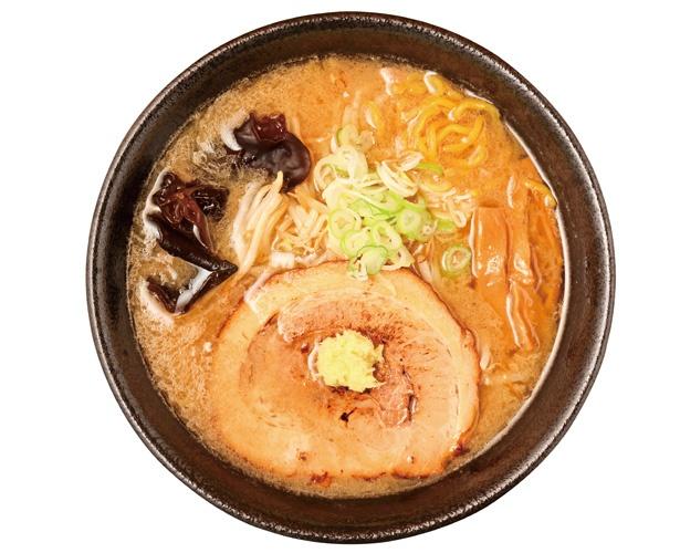 「みそラーメン」(800円)/サッポロラーメン エゾ麺☆ロック