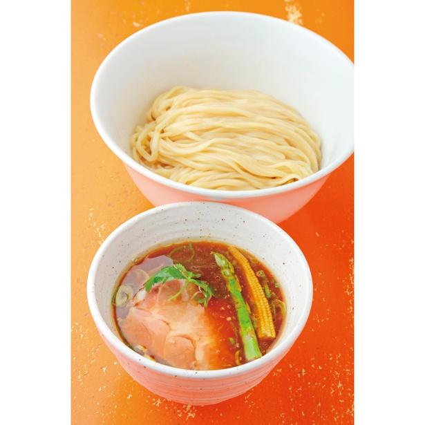 「鴨油の醤油 つけ麺(並)」(850円)/麺屋 玉ぐすく
