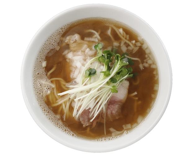「煮干し醤油ラーメン」(850円)/麺屋 グラフミ