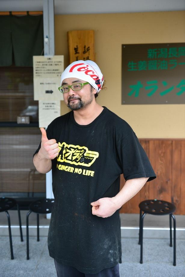 独学で現在の味にたどり着いた店主の山本 靖さん