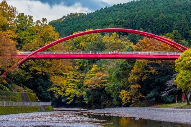 飯能河原と割岩橋